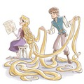 Tangled The Series: Storybook Illustration - disney-princess photo
