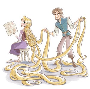 Tangled The Series: Storybook Illustration