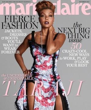Taraji P. Henson - Marie Claire Cover - 2017