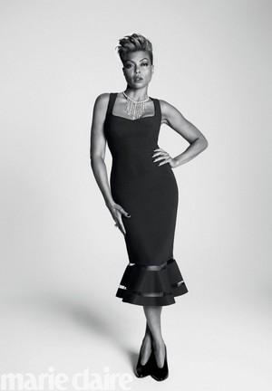 Taraji P. Henson - Marie Claire Photoshoot - 2017