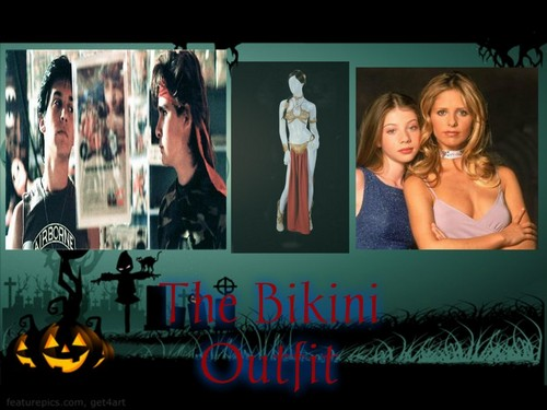Crossover Fanfiction wallpaper titled The Bikini Outfit