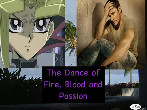 Crossover Fanfiction wallpaper entitled The Dance of Fire, Blood and Passion