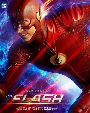 The Flash - Season 4 - Promo Poster