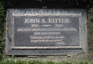 The Gravesite Of John Ritter