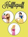 The Hufflepuff Princesses - disney-princess photo