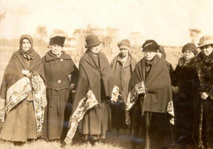 The Oneida Clanmothers at the 1925 Condolence Ceremony