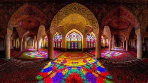The गुलाबी Mosque