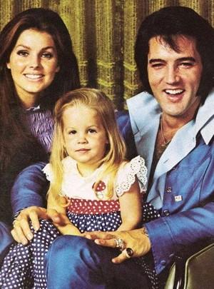 The Presley Family Back In 1971