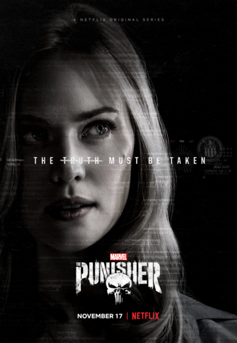 The Punisher - Netflix 바탕화면 titled The Punisher - Karen Page Poster - The Truth Must Be Taken