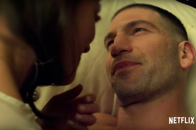 The Punisher Season 1 Trailer Screencap