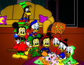 The Scariest Story Ever A Mickey Mouse Halloween Spooktacular  - walt-disney-characters fan art