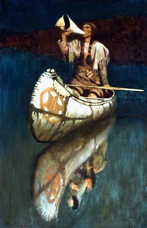 The Signal によって N.C. Wyeth
