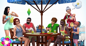 The Sims 4: Backyard Stuff Render