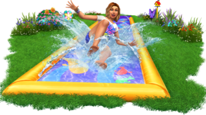 The Sims 4: Backyard Stuff Render
