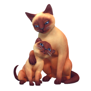 The Sims 4: gatos and cachorros Render