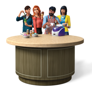 The Sims 4: Cool кухня Stuff Render