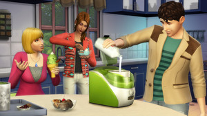 The Sims 4: Cool kusina Stuff