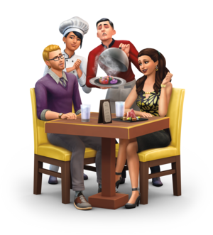 The Sims 4: Dine Out Render