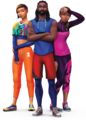 The Sims 4: Fitness Stuff Render