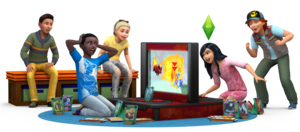 The Sims 4: Kids Room Stuff Render
