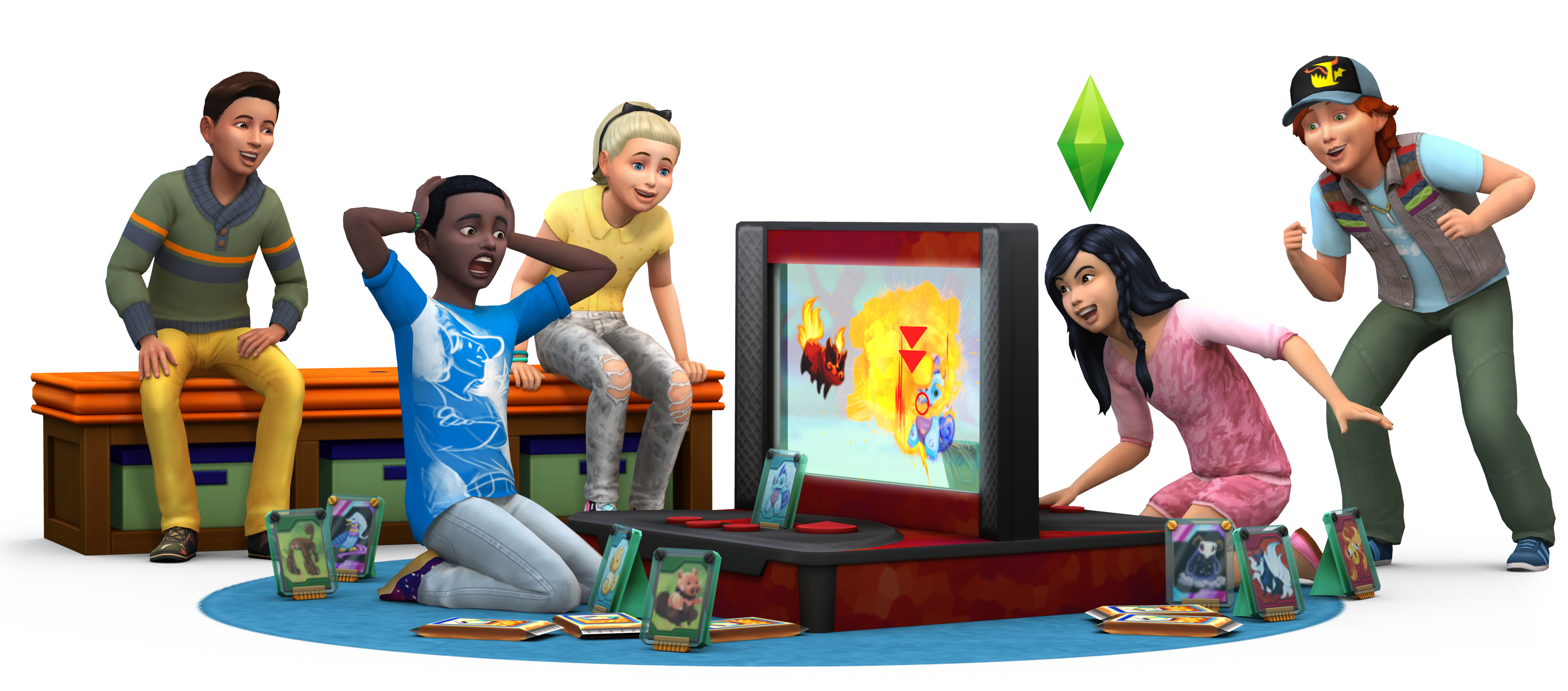 Sims 4 Images The Sims 4: Kids Room Stuff Render HD Wallpaper And  Background Photos