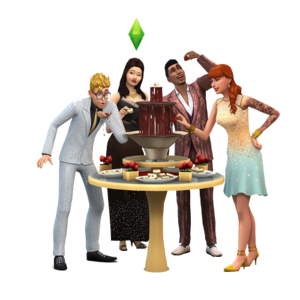 The Sims 4: Luxury Party Stuff Render