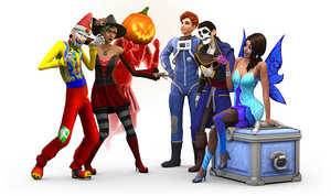 The Sims 4: Spooky Stuff Render