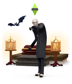 The Sims 4: Vampiri#From Dracula to Buffy... and all creatures of the night in between. Render