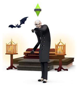 The Sims 4: Vampire Render