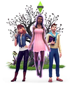 The Sims 4: Вампиры Render