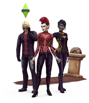 The Sims 4: Vampires Render