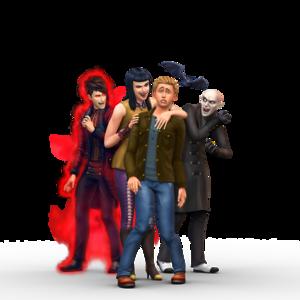 The Sims 4: ma cà rồng Render