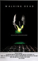 """The Walking Dead """"Alien"""" Movie Tribute Poster for the 100th Episode - the-walking-dead photo"""