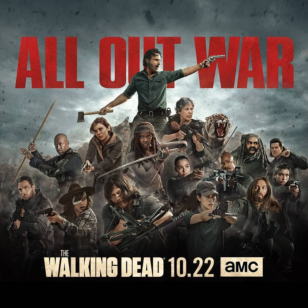 The Walking Dead - All Out War Poster