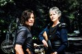 The Walking Dead Daryl Dixon and Carol Peletier Season 8 Official Picture - the-walking-dead photo
