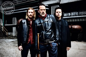 The Walking Dead Dwight, Negan and Eugene Porter Season 8 Official Picture