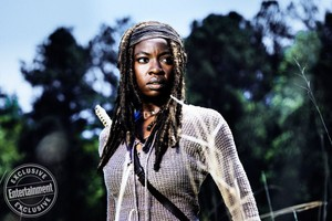 The Walking Dead Michonne Season 8 Official Picture
