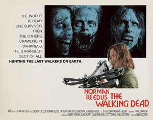 "The Walking Dead ""Omega Man"" Movie Tribute Poster for the 100th Episode"