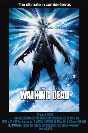 "The Walking Dead ""The Thing"" Movie Tribute Poster for the 100th Episode"
