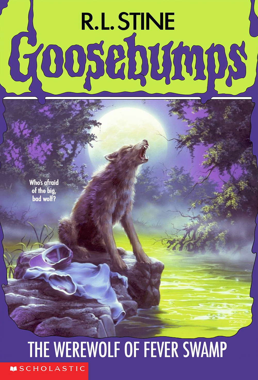 Goosebumps Images The Werewolf Of Fever Swamp HD Wallpaper And Background Photos