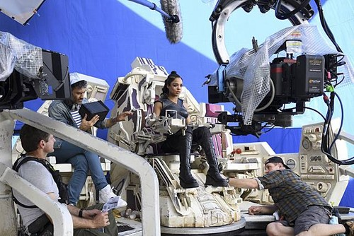 Thor: Ragnarok Hintergrund called Thor Ragnarok - Behind the Scene