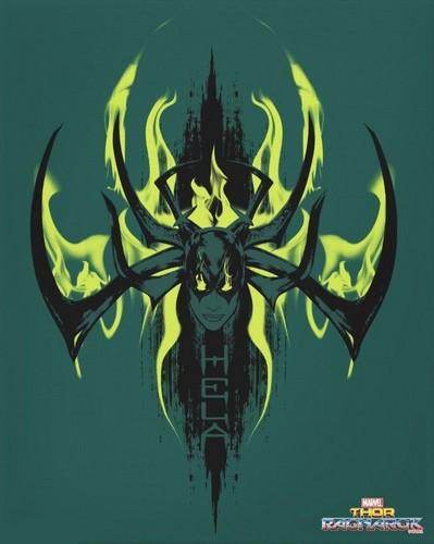 Thor: Ragnarok দেওয়ালপত্র entitled Thor: Ragnarok - Hela Poster