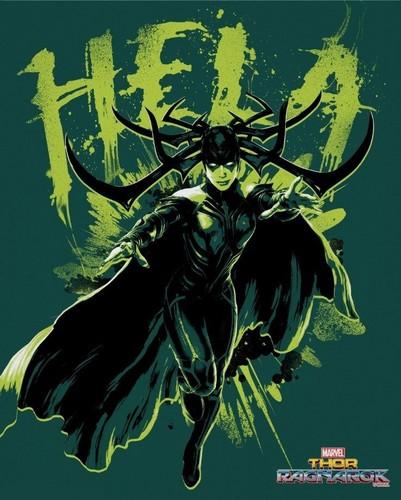 Thor: Ragnarok wallpaper called Thor: Ragnarok - Hela Poster