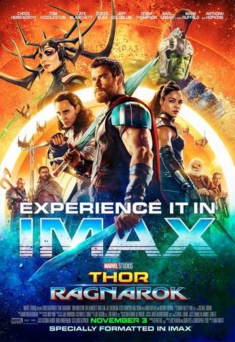 Thor: Ragnarok wallpaper entitled Thor: Ragnarok - IMAX Poster