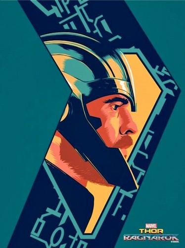 Thor: Ragnarok 바탕화면 titled Thor: Ragnarok - Thor Poster