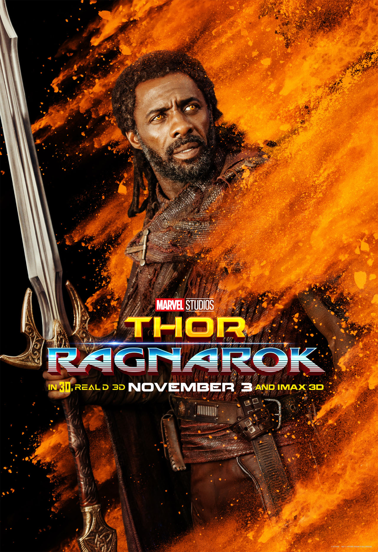 Thor Ragnarok character posters