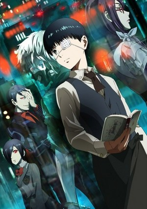 Tokyo Ghoul アニメ poster