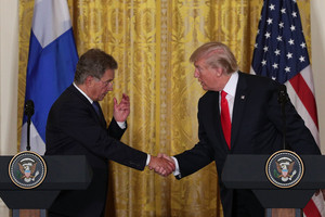 Trump Holds Joint Conference With President of Finland - August 28, 2017