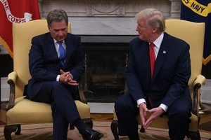 Trump Welcomes Finnish President Niinisto to White House - August 28, 2017