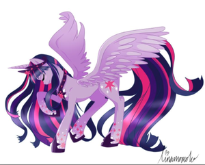 Twilight Sparkle Older